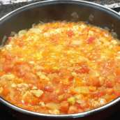 Merluza con Salsa de Zanahorias