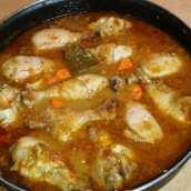 Muslos de Pollo Estofados