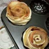 Rosas Dulces de Hojaldre