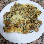 Tortilla de Champiñones para Dieta