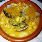 Fabes Asturianas con Almejas
