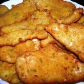 Filetes de Pollo Empanados