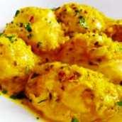 Huevos en Salsa de Almendras a la Andaluza