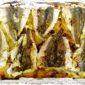 Merluza al Horno con Salsa Verde