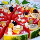 Pizza de Frutas Variadas