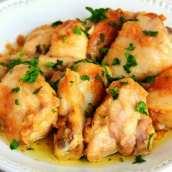 Pollo al Ajillo Tradicional