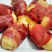 Rollitos de Patata y Jamón Serrano