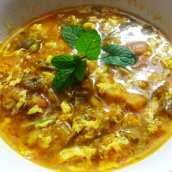 Sopa de Espárragos con Huevo