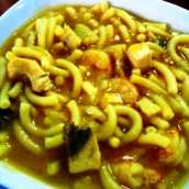 Sopa de Fideos a la Marinera