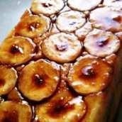 Tarta Casera De Plátanos