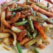 Tempura de Verduras con Miel