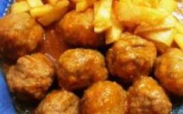 Albóndigas De Ternera Con Patatas