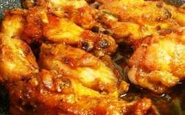 Alitas de Pollo al Ajillo