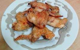 Alitas de Pollo al Horno con Cabrales