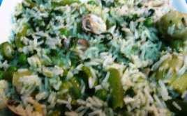 Arroz con Almejas y Verduras