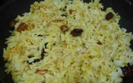 Arroz Especiado Al Curry