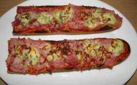 Boca Pizza De Jamón Y Roquefort