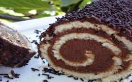 Brazo de Gitano con Chocolate