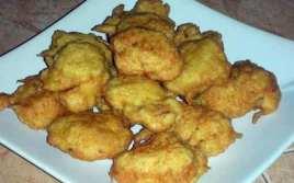 Buñuelos De Bacalao Con Limón