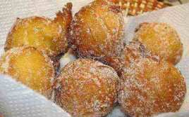 Buñuelos Dulces De Limón