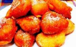Buñuelos De Plátano Y Nueces