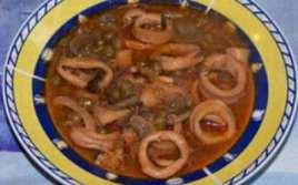 Calamares Al Vino De Rioja