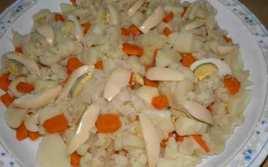 Coliflor Con Zanahorias A La Vinagret