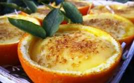Crema de Naranja Fría