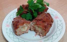 Croquetas de Carne Rellenas de Queso