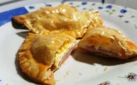 Empanadillas de Jamón y Queso al Horno