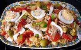 Ensalada Campera Con Delicias Del Mar