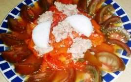 Ensalada de Pimientos con Tomates Kumato