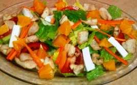 Ensalada Primaveral con Pollo y Naranja