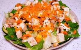 Ensalada de Tofu y Champiñones