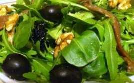 Ensalada Verde Con Anchoas Y Nueces