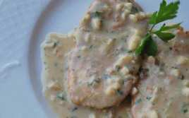 Escalopes Con Salsa De Almendras