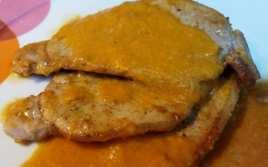 Escalopines de Lomo en Salsa