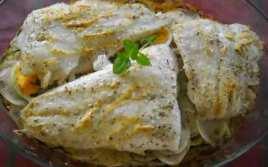 Filetes De Merluza Con Mayonesa Gratinados