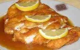 Filetes De Pollo En Salsa De Limón