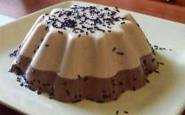 Flan de Turrón y Chocolate en Thermomix