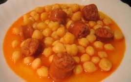 Garbanzos con Chorizo