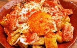Huevos y Patatas al Pimentón