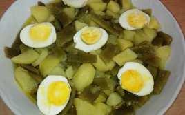 Judias Verdes con Patatas a la Vinagreta