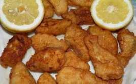 Lomitos De Bacalao Rebozados Al Limón