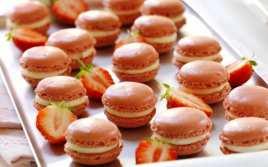 Macarons Rellenos de Crema de Limón