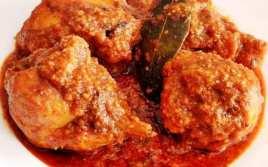 Muslos de Pollo en Salsa de Pimiento Choricero