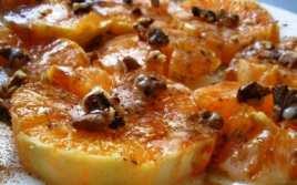 Naranjas con Leche Condensada y Canela