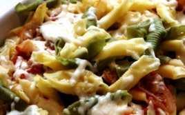 Pasta al Horno con Verduras y Queso