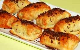 Pastelitos de Hojaldre con Nocilla