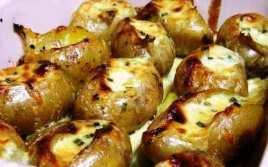 Patatas Al Queso En Microondas